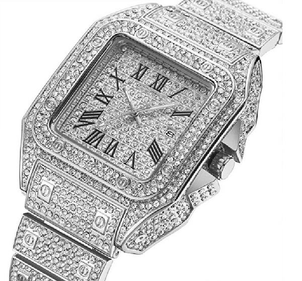 Tonneau Crystal Watch