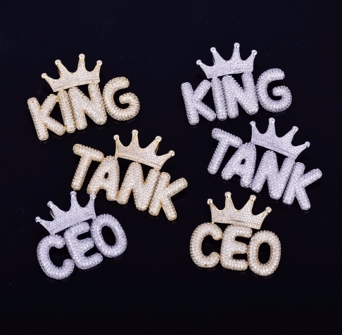 Small Crown Custom Letters