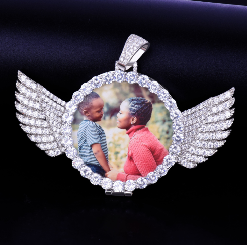 Angel Photo Pendant