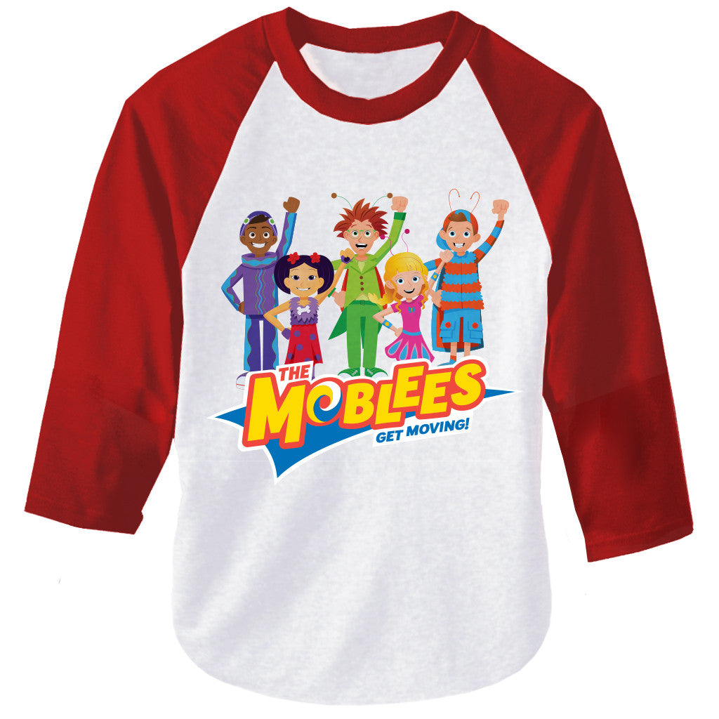 The Moblees™ Raglan T-Shirt