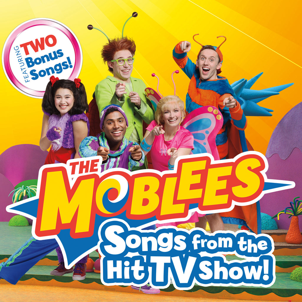 The Moblees:</br>Songs from the Hit TV Show!