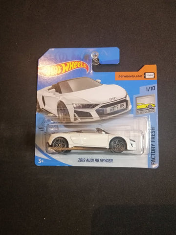 2019 Audi R8 Spyder Short Card Hot Wheels