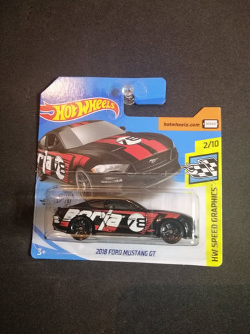 2018 Ford Mustang GT Short Card Hot Wheels