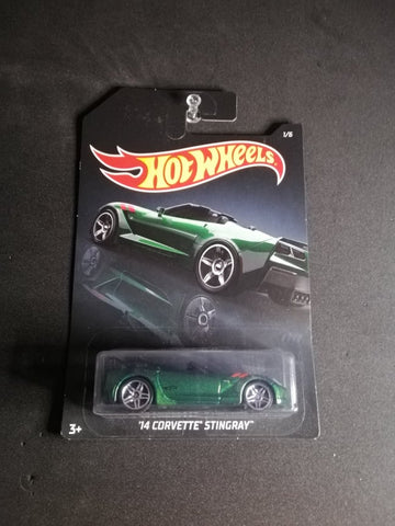 14 Corvette Stingray Exotics Hot Wheels