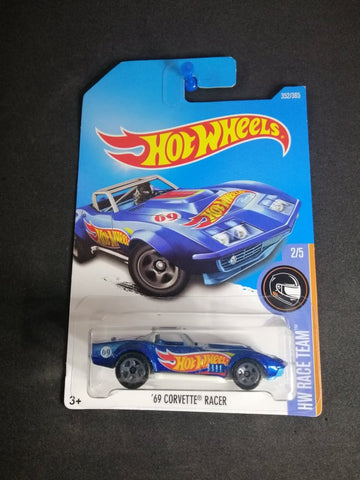 69 Corvette Racer Hot Wheels