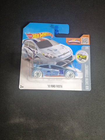 12 Ford Fiesta Short Card Hot Wheels