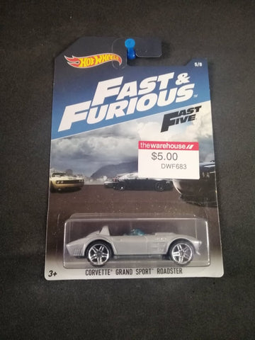 Corvette Grand Sport Roadster Fast and Furious Hot Wheels