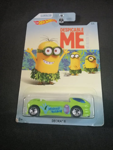 Deora II Despicable Me Minions Hot Wheels