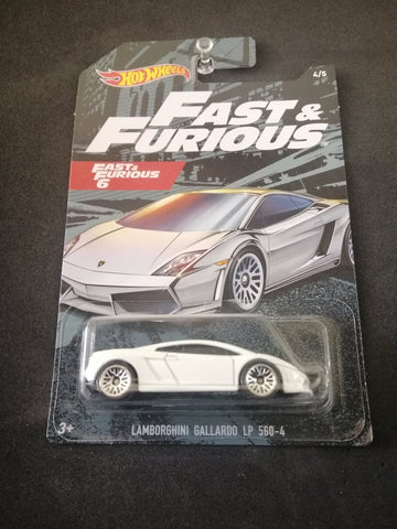 Lamborghini Gallardo LP 560-4 Fast and Furious Hot Wheels