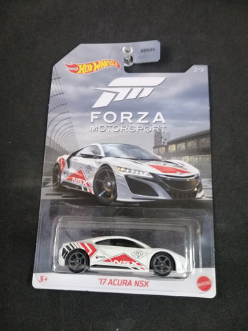 17 Acura NSX Forza Motorsport Series Hot Wheels
