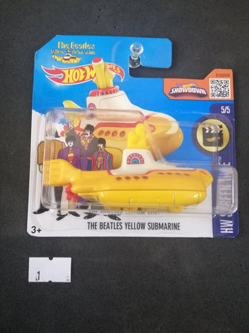 The Beatles Yellow Submarine Short Card Hot Wheels