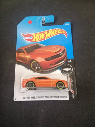 2013 Hot Wheels Chevy Camaro Special Edition Hot Wheels