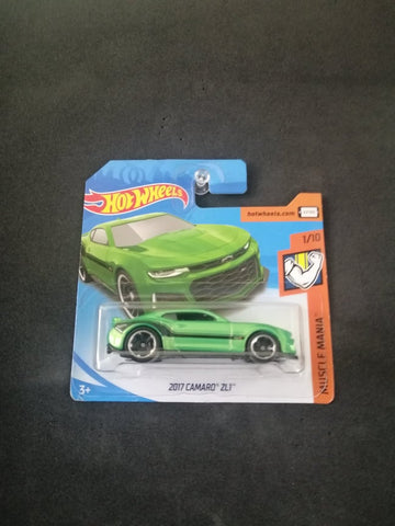 2017 Camaro ZL1 Short Card Hot Wheels
