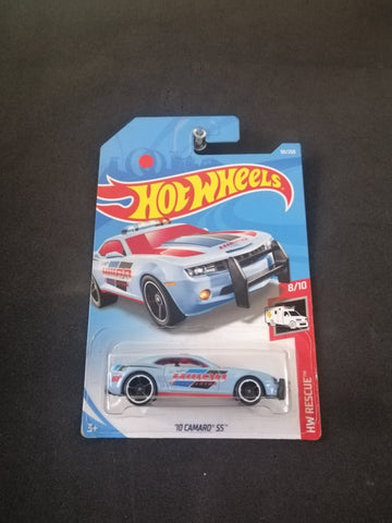 10 Camaro SS Police Hot Wheels