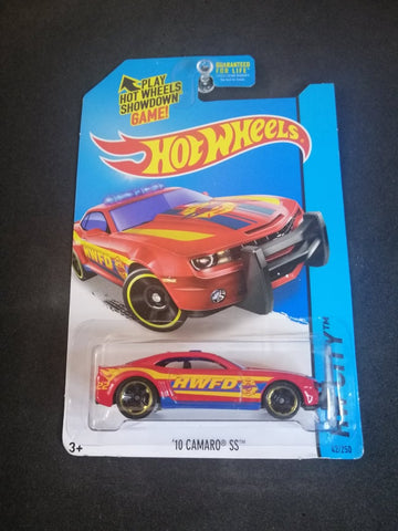 10 Camaro SS Hot Wheels