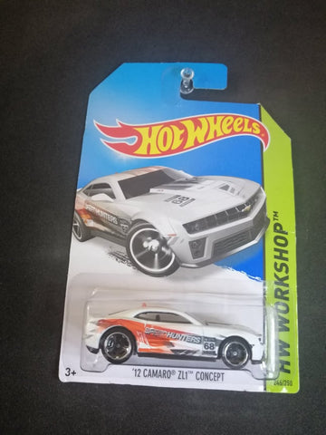 12 Camaro ZL1 Concept Hot Wheels