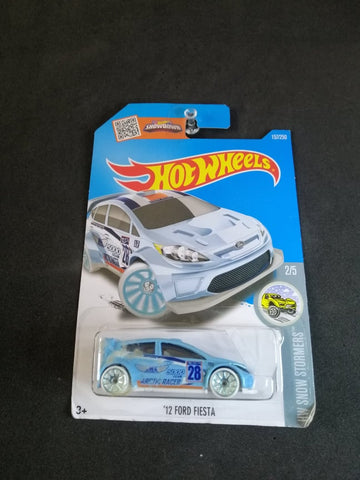 12 Ford Fiesta Hot Wheels