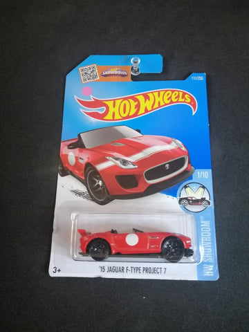 15 Jaguar F-Type Project 7 Hot Wheels