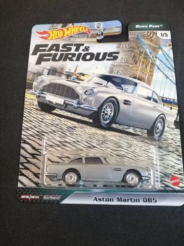 Aston Martin Fast Euro DBS Fast and Furious Real Riders Hot Wheels