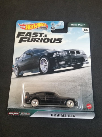 BMW M3 E36 Fast Euro Fast and Furious Real Riders Hot Wheels