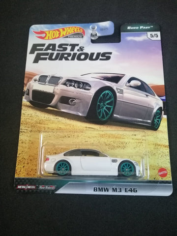 BMW M3 E46 Fast Euro Fast and Furious Real Riders Hot Wheels