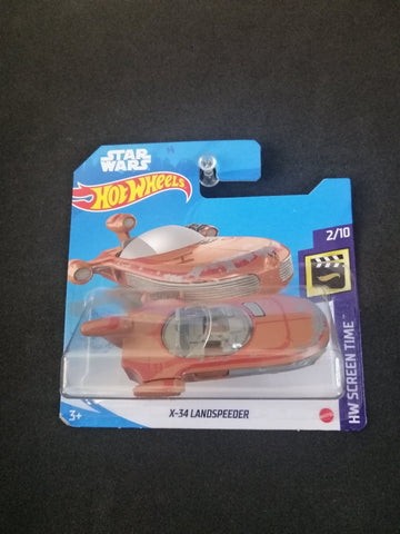 X-34 Landspeeder Star Wars Short Card Hot Wheels