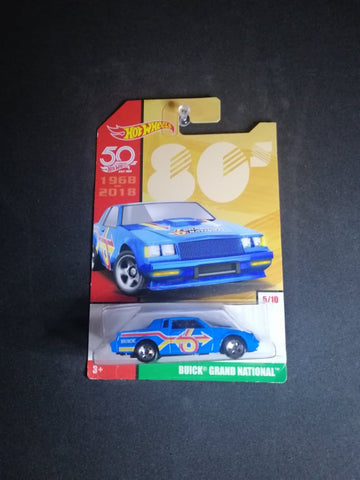 Buick Grand National - Throwback Series Hot Wheels