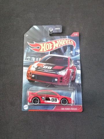 08 Ford Focus Cult Racers Hot Wheels