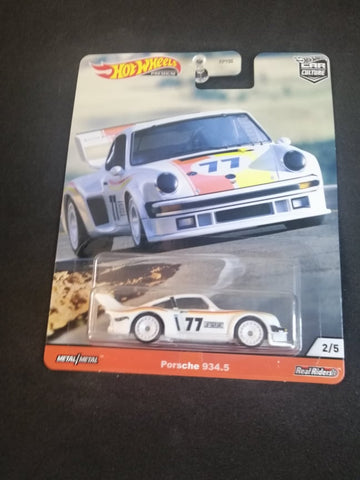 Porsche 934.5 Thrill Climbers Car Culture Real Riders Hot Wheels