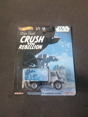 88 Mercedes Unimog U1300 Star Wars Real Riders Hot Wheels