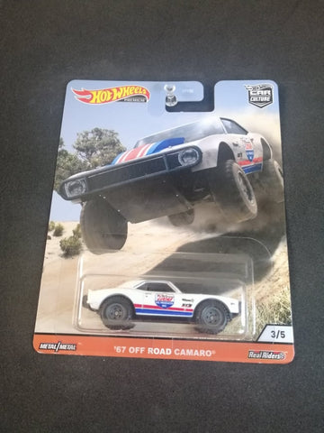 67 Off Road Camaro Wild Terrain Car Culture Real Riders Hot Wheels
