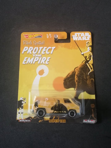 Super Van Star Wars Real Riders Hot Wheels