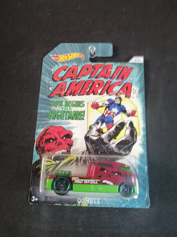 Qombee Marvel Captain America Series Series Hot Wheels