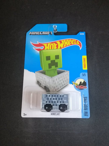 Minecraft Minecart Hot Wheels