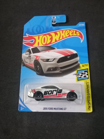 2015 Ford Mustang GT Hot Wheels