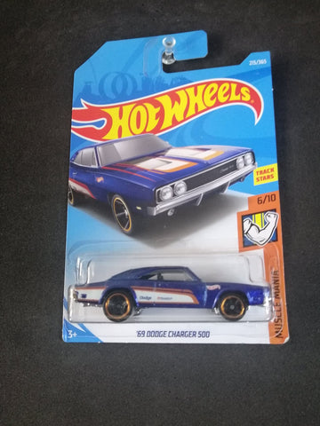 69 Dodge Charger 500 Hot Wheels