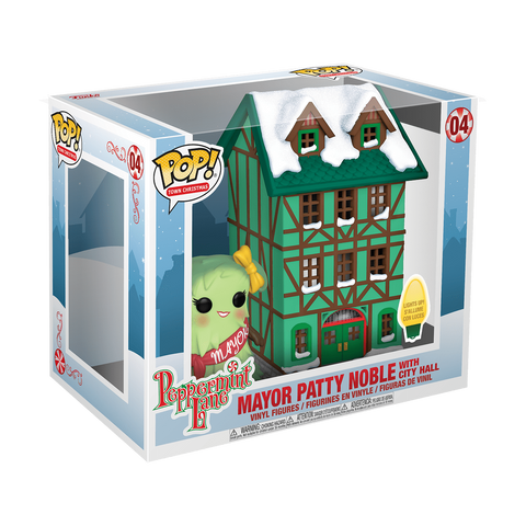 Mayor Patty Noble with City Hall Funko Pop Vinyl - Collectibles_City