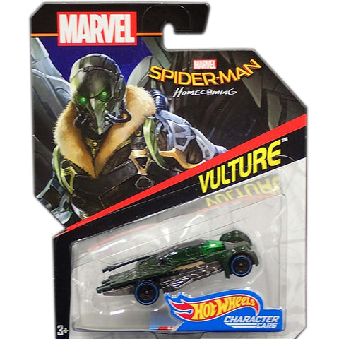 Vulture Spiderman Homecoming Character Car Marvel Hot Wheels - Collectibles_City