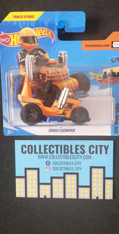 Grass Chomper Short Card Treasure Hunt Hot Wheels - Collectibles_City