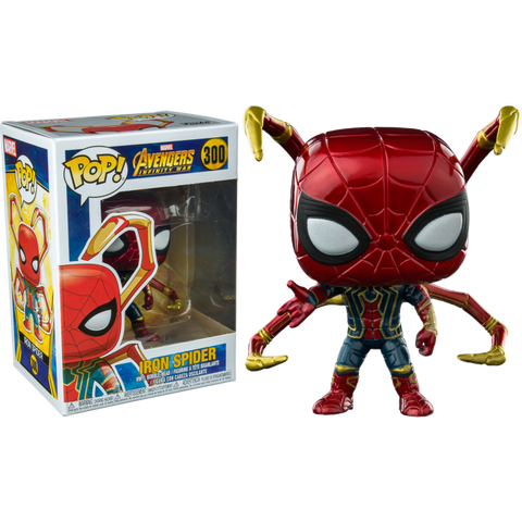 Iron Spider Funko Pop Vinyl