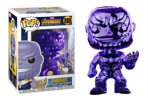 Thanos Purple Chrome Funko Pop Vinyl