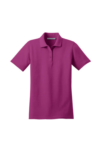 L510 Ladies Port Authority Stain Resistant Polo, 5.6-ounce, 60/40 cotton/poly pique