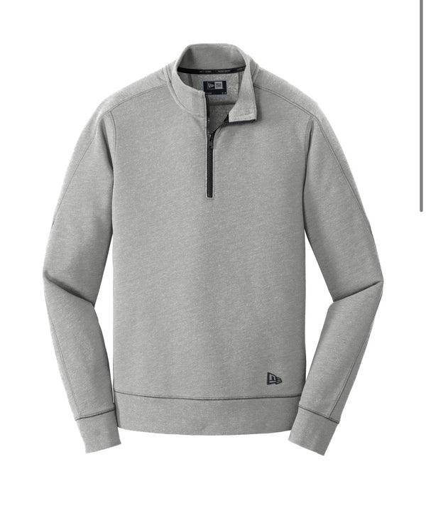 New Era®️ Tri-Blend Fleece 1/4-Zip Pullover