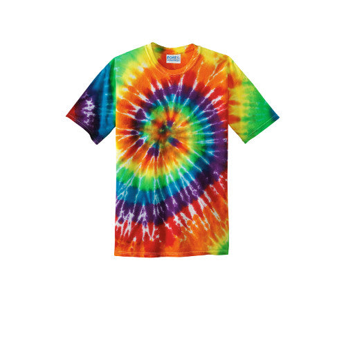 PC147 Port & Company® - Tie-Dye Tee Rainbow (multi) colors