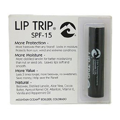 Mountain Ocean Lip Trip SPF-15 - 0.165 oz - Case of 12