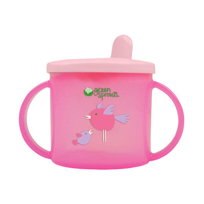 Green Sprouts Non-Spill Sippy Cup - Pink - 6 oz
