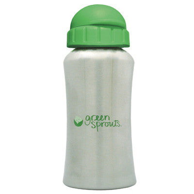 Green Sprouts Stainless Steel Bottle - Stage 4/5 - 8 oz