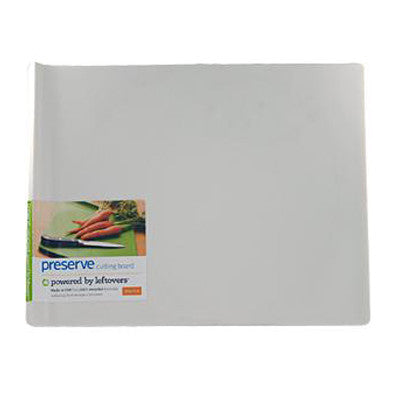 Preserve Large Cutting Board - White - Case of 4 - 14 in x 11 in