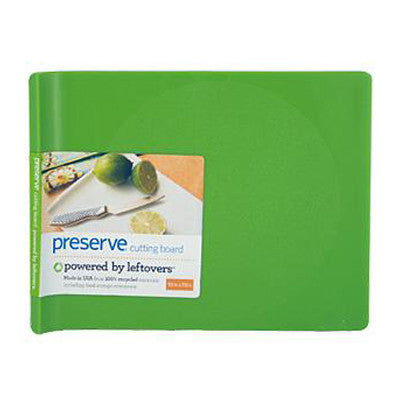 Preserve Small Cutting Board - Green - Case of 4 - 10 in x 8 in