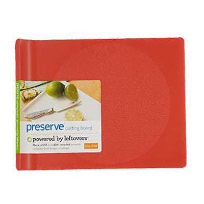 Preserve Small Cutting Board - Red - Case of 4 - 10 in x 8 in
